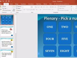 Never Had To Make A Plenary Again With This Easy And Engaging Plenary.ppt