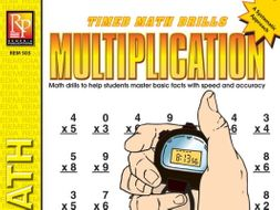 Multiplication: Timed Math Drills