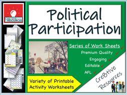 Political participation in Politics
