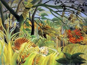Rainforest Art Plan KS1