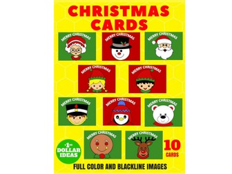 10 CHRISTMAS CARDS   CHRISTMAS CRAFTS FOR KIDS