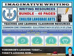 IMAGINATIVE WRITING - CLASSROOM RESOURCES - BUNDLE