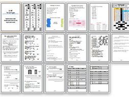 GCSE Maths percentages full lesson with 24 page workbook challenge and  homework answers included