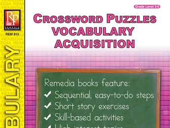 Vocabulary Acquisition: Crossword Puzzles