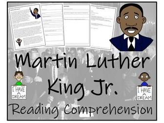 UKS2 History - Martin Luther King Reading Comprehension Activity