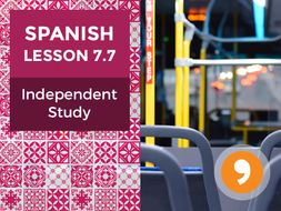 Spanish Lesson 7.7: Mis Viajes - Independent Study