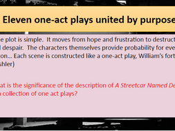 Streetcar Named Desire: Structural Analysis and Importance of The Ending