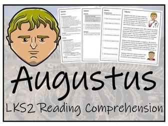 LKS2 History - Augustus Reading Comprehension Activity