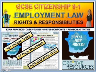 Employment Law - Rights and Responsibilities Work Booklet WB