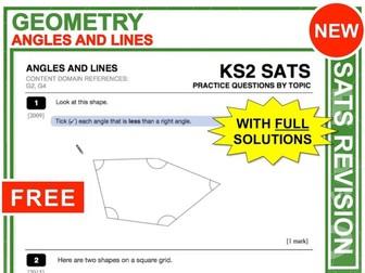 KS2 Maths (Angles + Lines)