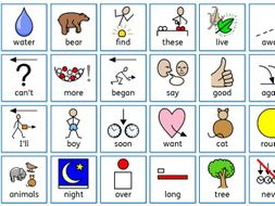 Next 200 High frequency words with pictures phonics tricky words