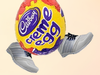 Creme egg crazy Easter math quiz. Great as a starter, end of lesson or form activity for Easter.