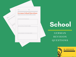 German School Questions