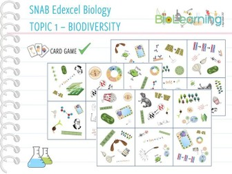 SNAB Biology Topic 4: Biodiversity - Card Game
