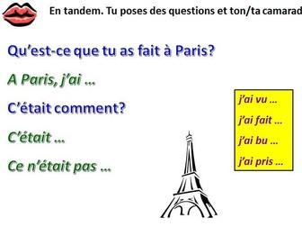 Studio 2 M2 Opinions about Paris activities Rouge Lesson 3