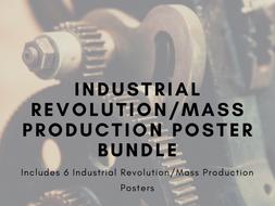 Industrial Revolution/Mass Production Poster Bundle