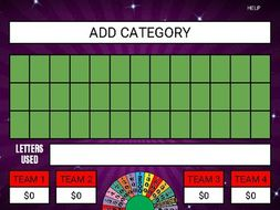 Wheel Of Fortune Google Slides Game Template