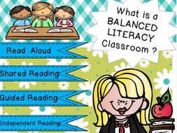 All of the pieces needed to create a BALANCED LITERACY classroom are included. Descriptors, samples,