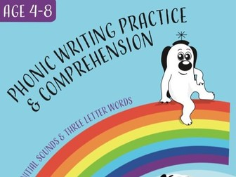 Writing And Comprehension Practice: Dan's Dog At The Vet (4-8 years)