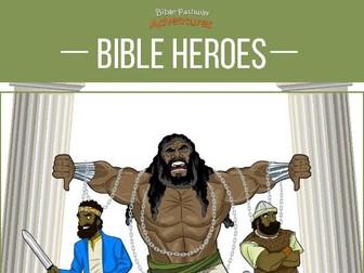 Bible Heroes Quiz Book