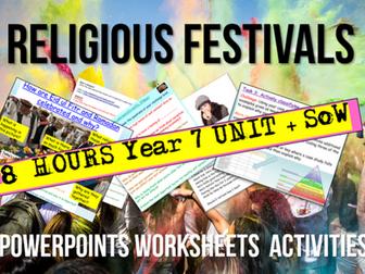Religious Festivals Unit