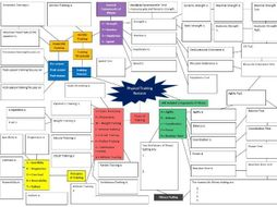 Physical Training Revision Mind Map
