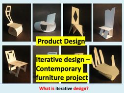 Iterative Design Technology Contemporary Furniture Project