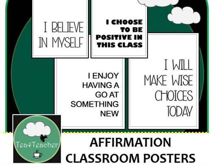 photograph regarding Printable Motivational Posters named Confirmation Posters for Clroom Shows Printable Motivational Posters Decor