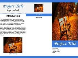 Tri-fold Brochure Template for Google Docs