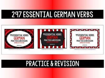 GERMAN VERBS PRACTICE & REVISION 297 VERBS