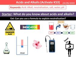 Acids and Alkalis (Activate KS3)
