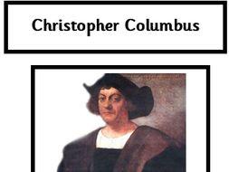 Year 2 - Christopher Columbus Fact File