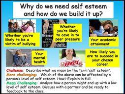 Self Esteem PSHE