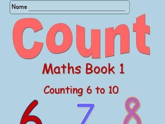 Numbers 6 to 10 Worksheets