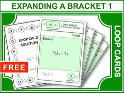 Expanding a Bracket 1 (Loop Cards)