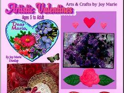 Artistic Valentine Cards