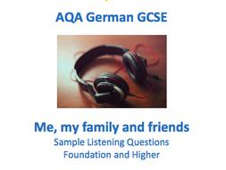 German GCSE Listening - Identity and Culture