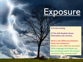 Exposure Power and Conflict