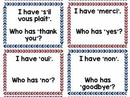 d3754044fc7dd Follow Me Cards: The Basics in Spanish and French