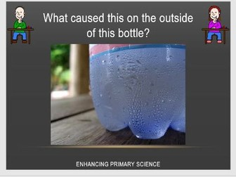 CONDENSATION AND THE WATER CYCLE