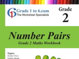Number Pairs: Grade 2 Maths Workbook from www.Grade1to6.com Books