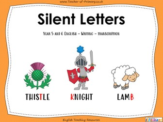 Silent Letters - Year 5 and 6