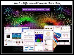 Year 1 Fireworks Maths Mats