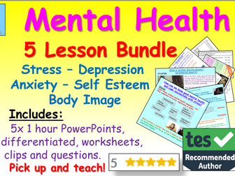 Mental Health + Wellbeing Lessons
