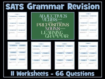 English SATS Grammar Revision