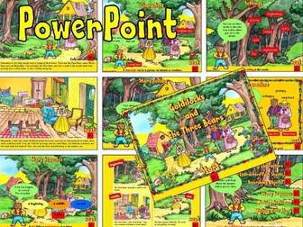 Goldilocks and The Three Bears KS1 – PowerPoint
