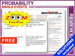GCSE Revision (Probability: Single Events)