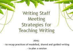 meeting writing