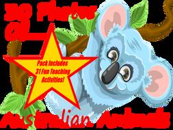 30 Photos and images of Australian animals PowerPoint Presentation + 31 Fun Teaching Activities