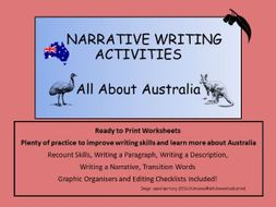 Australia:  Narrative Writing